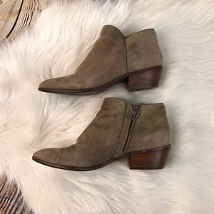 Sam Edelman Suede Ankle Booties
